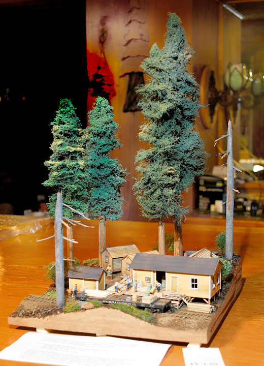 Logging Industry Railroad Museum Event Photos Of Dioramas